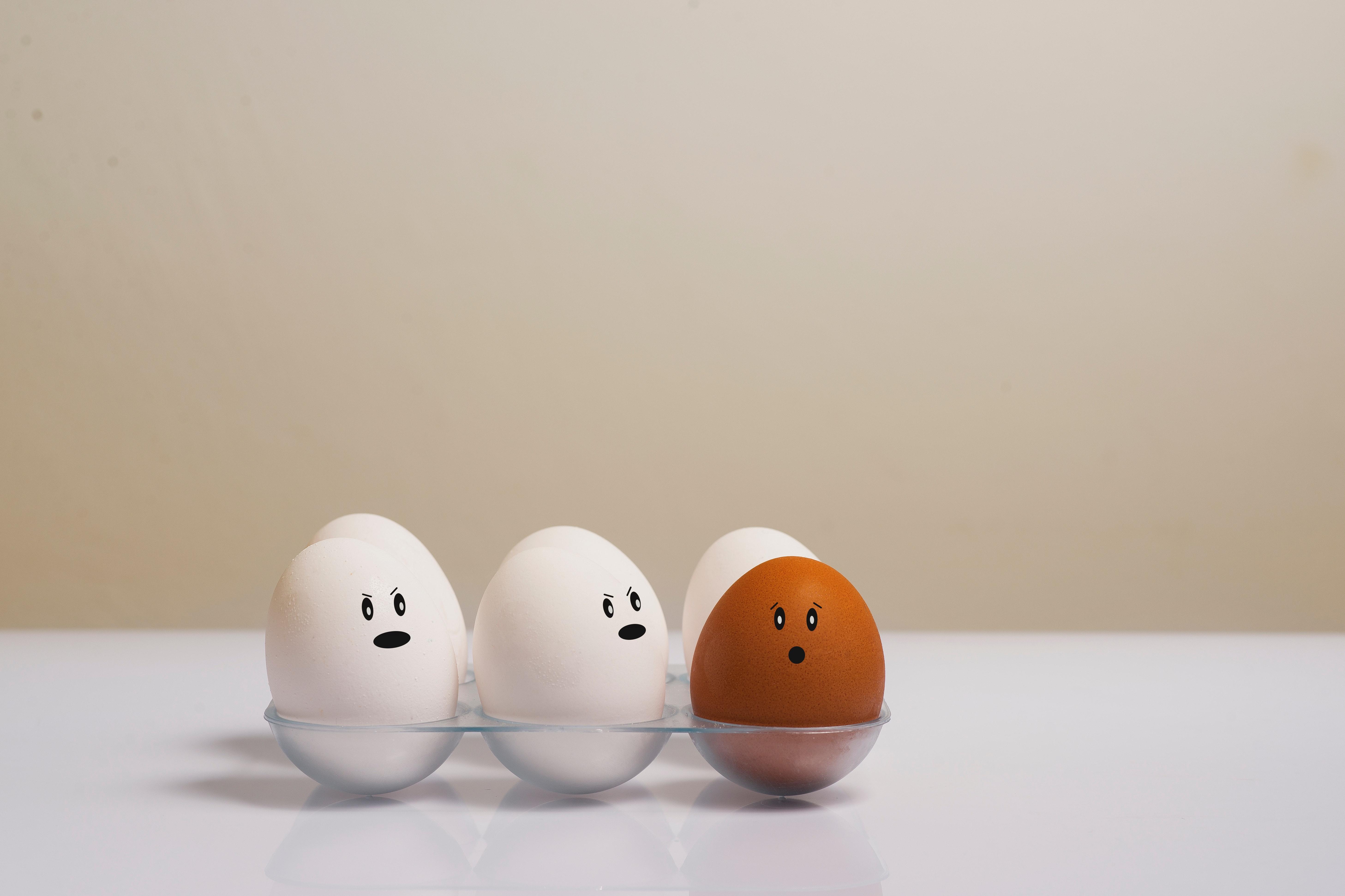 ¡Tú eres diferente!