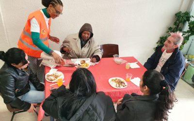 Comida Navideña para personas sin recursos