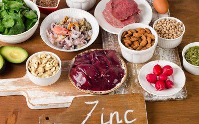 Zinc, vital para la salud